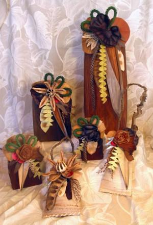 Hawaiian Palm Baskets