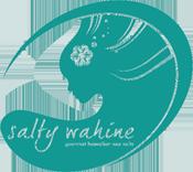Salty Wahine's Gourmet Hawaiian Sea Salts logo