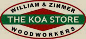 "William & Zimmer Woodworkers, ""The Koa Store"""