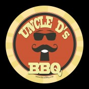 Uncle D's Kauai BBQ logo