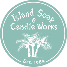 Island Soap & Candle Works logo